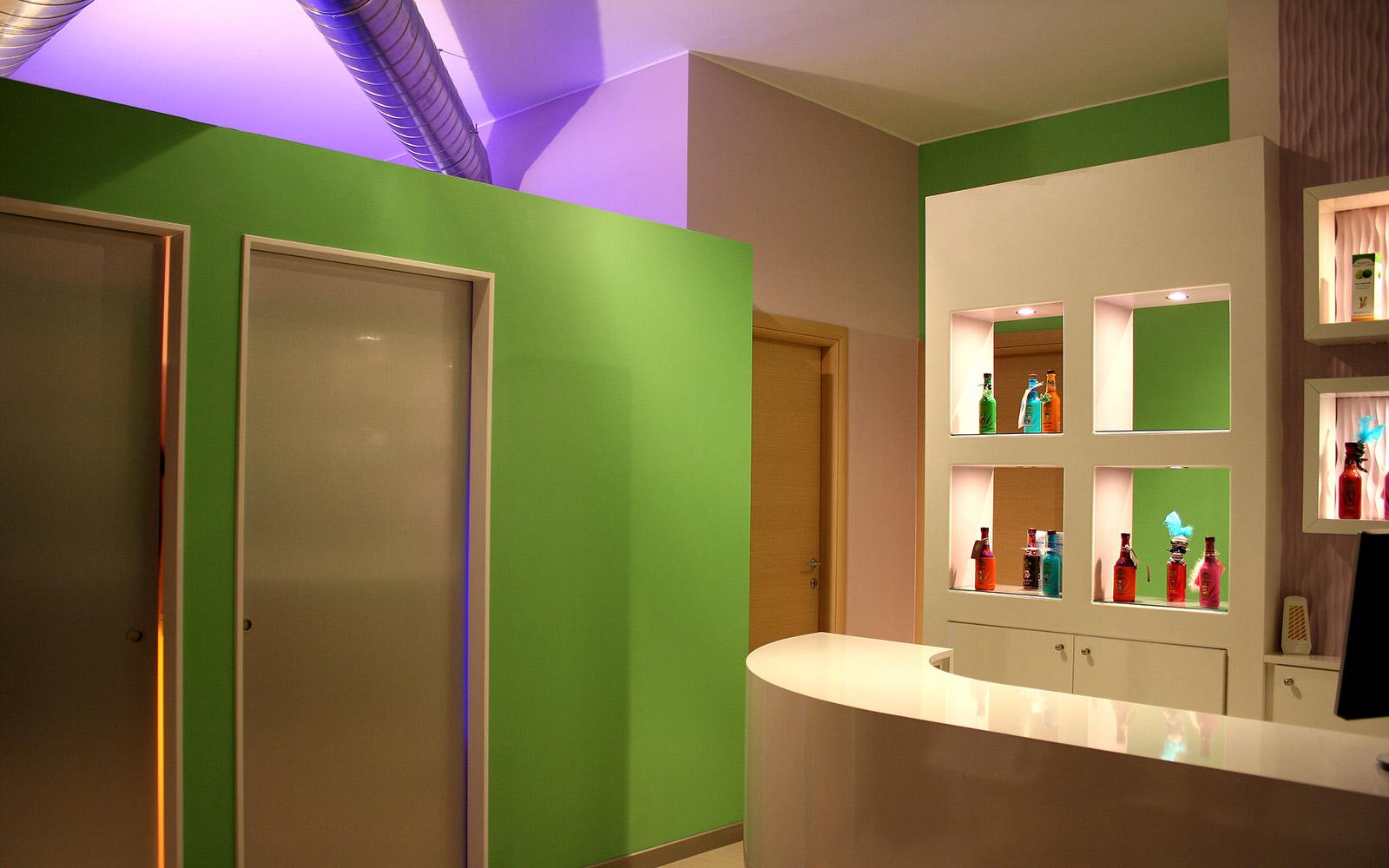 Home for Arredamento spa e centri benessere